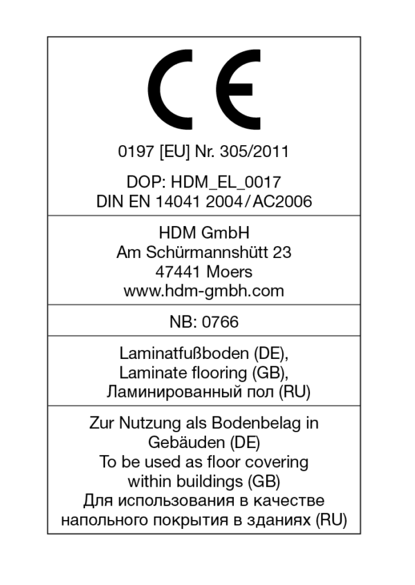 HDM Laminat Brilliant Life Black Pearl 775506-2904